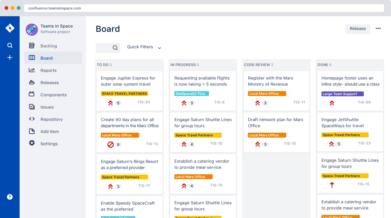 Scrum board example | Atlassian agile coach