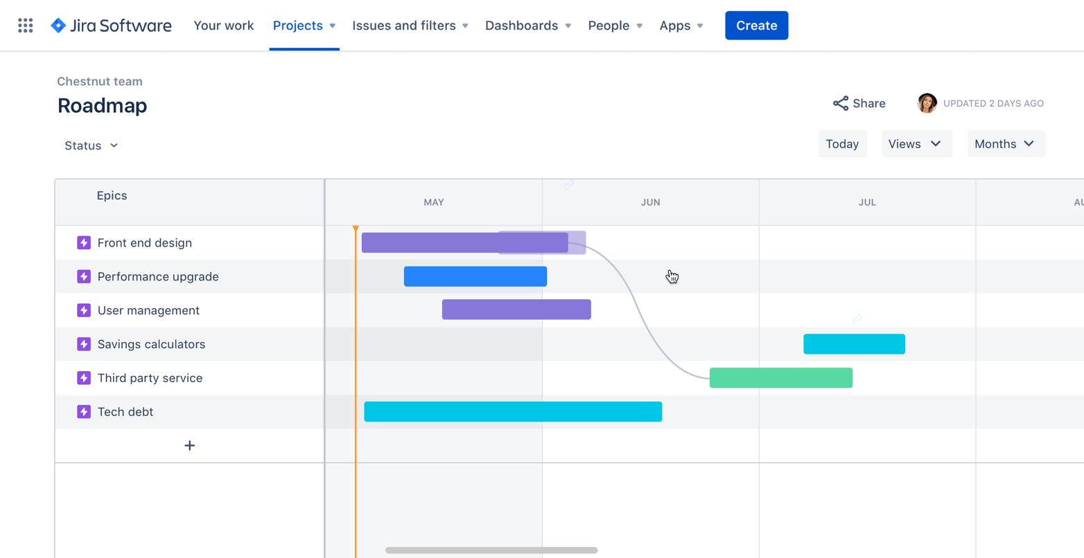 Roadmap-Screenshot