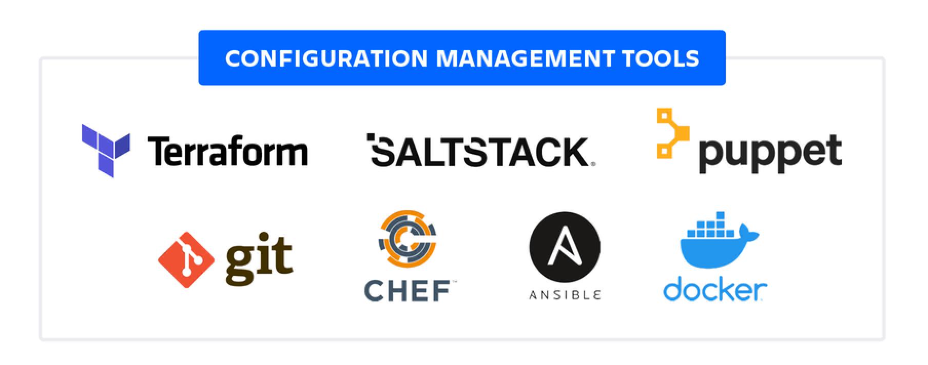 Herramientas de gestión de la configuración