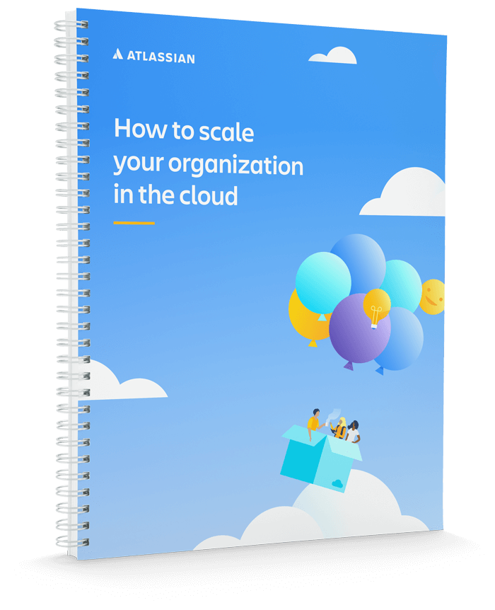 Couverture du document « How to scale your organization in the cloud »