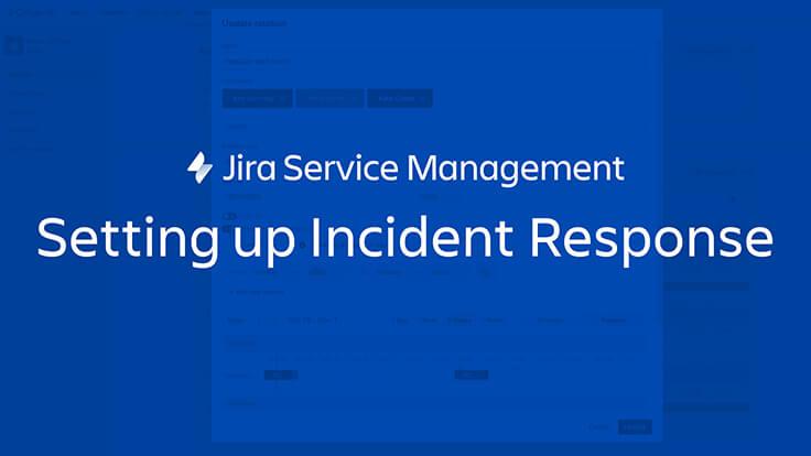 Setting up incident response