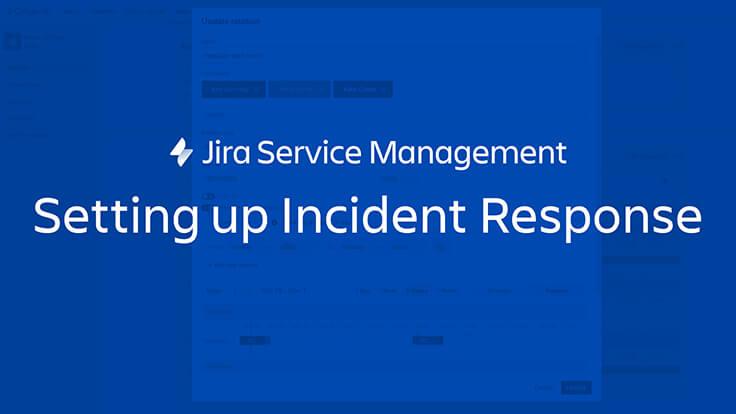 Configuration de la réponse aux incidents