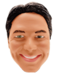 Muñeco cabezón de Tom Kennedy