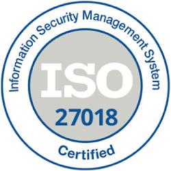 ISO 27018 logo