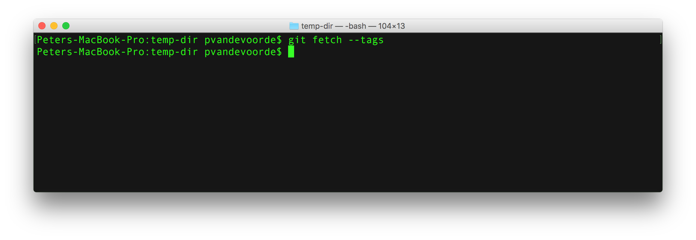 git-fetch-tags