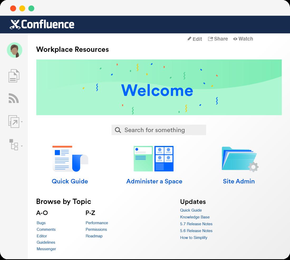 Confluence-Wissensdatenbank-Software