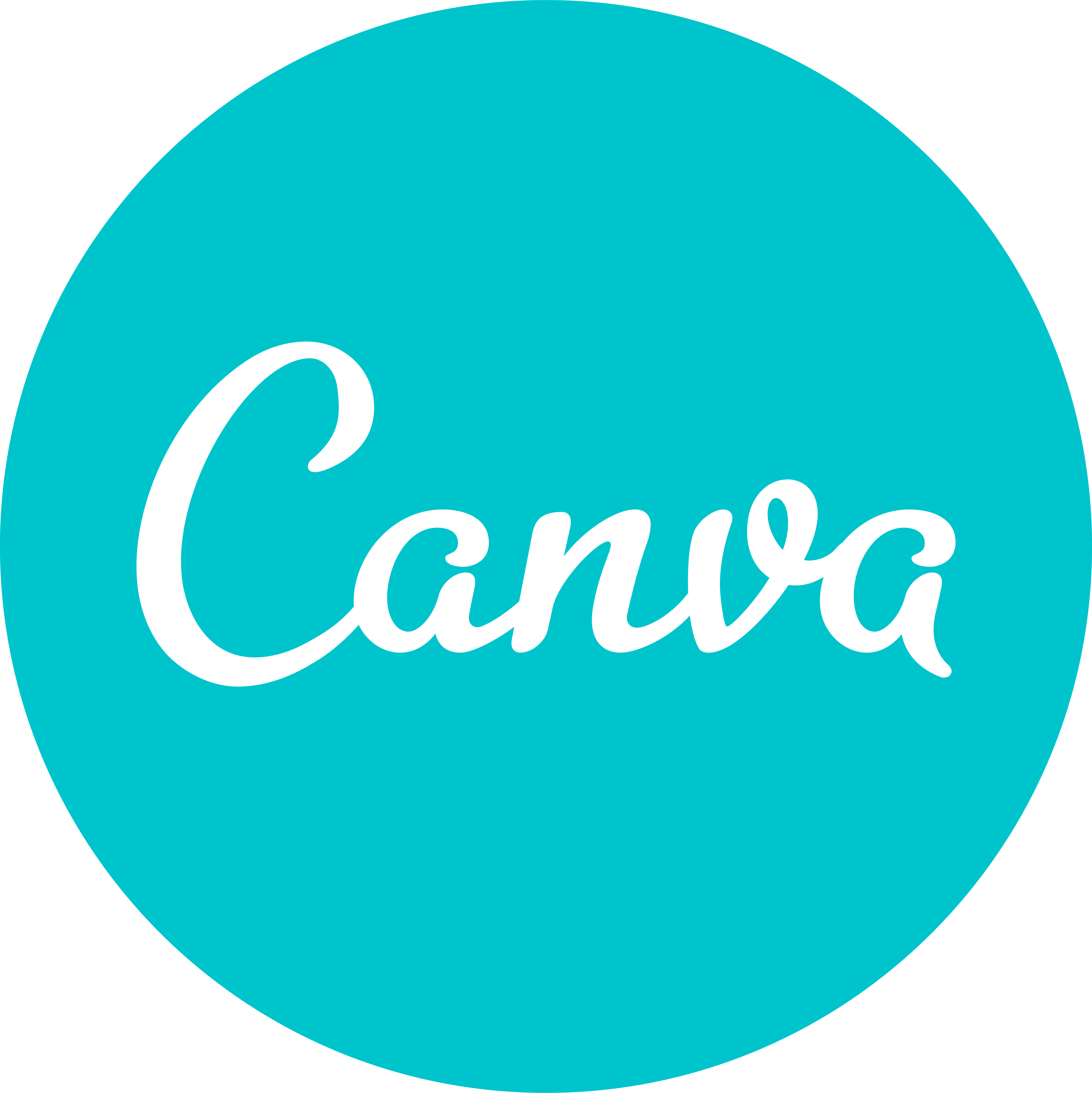 Logotipo da Canva