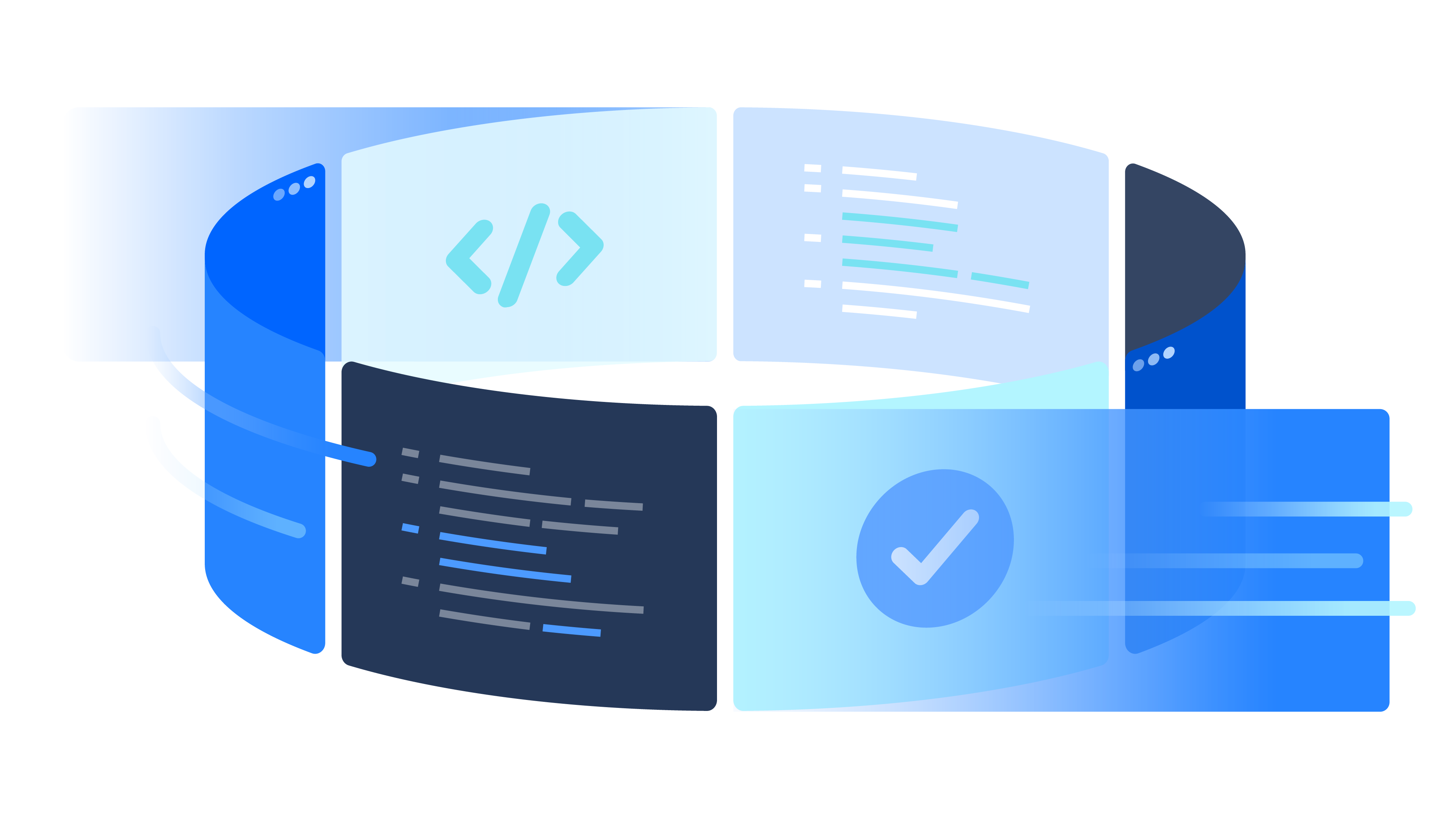 Illustration of continuous deployment cycle | Atlassian CI/CD