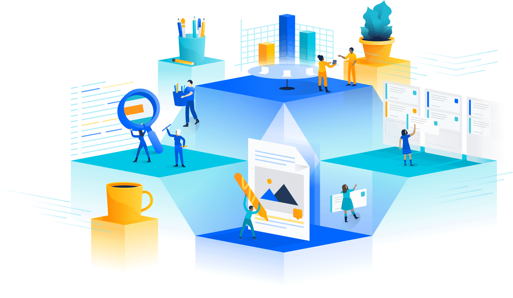 The Atlassian Stack connects all of your teams