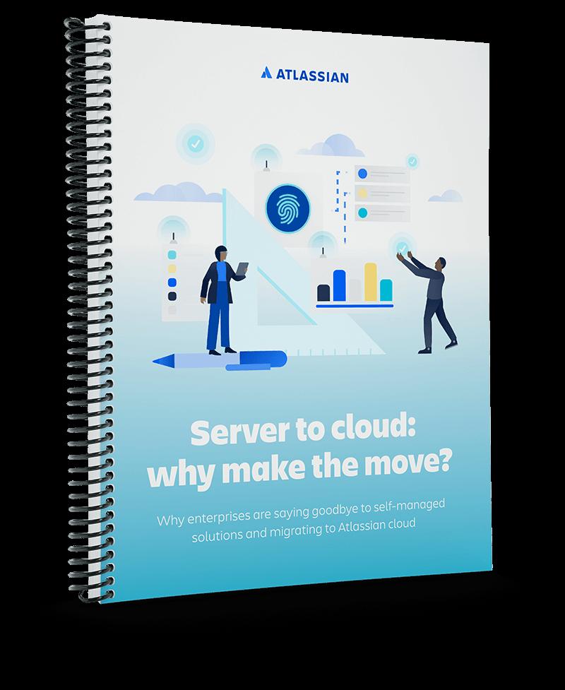 Copertina del whitepaper Da Server a Cloud