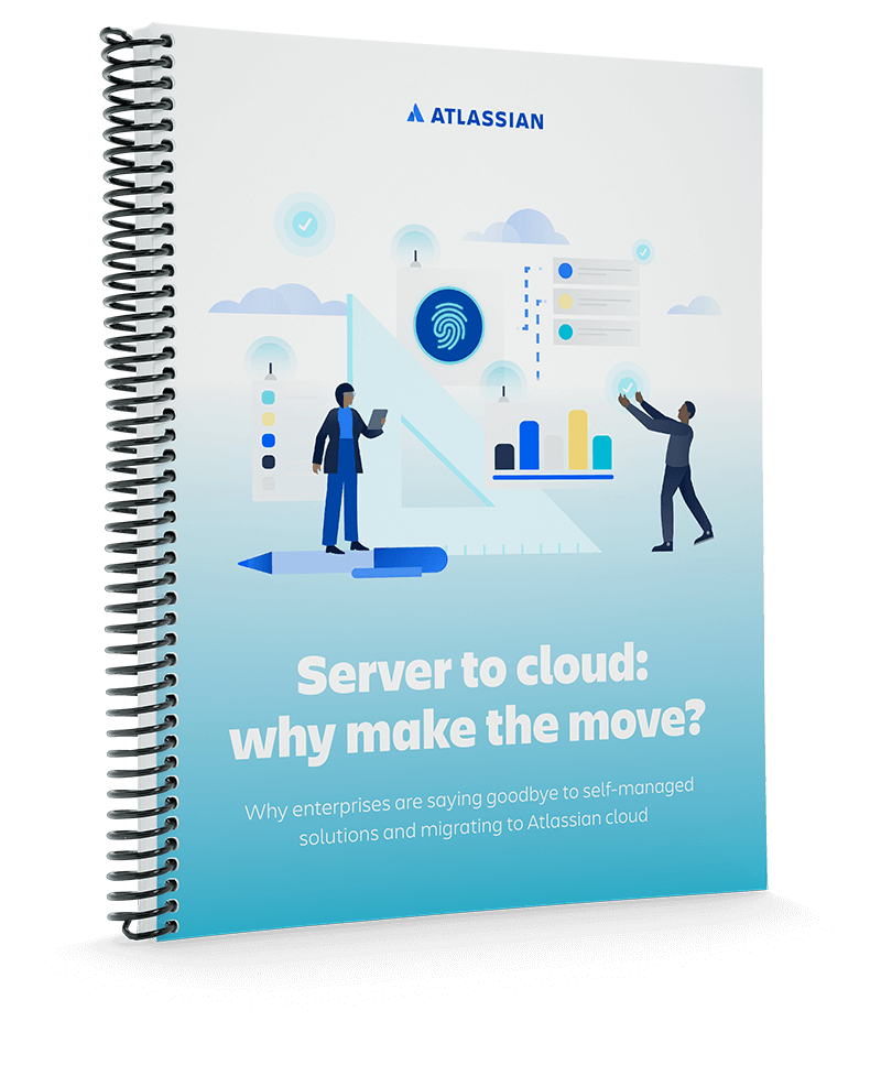 Server から Cloud へのホワイトペーパーの表紙
