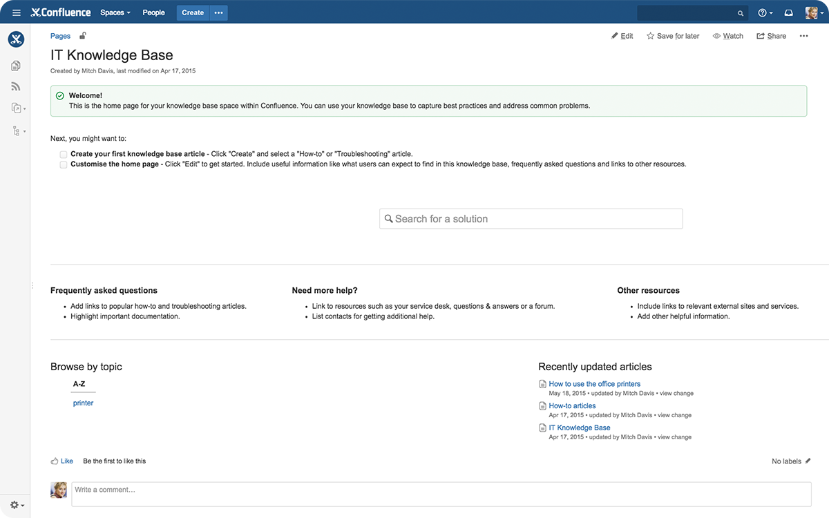 how to file a support ticket atlassian