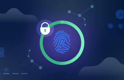 Thumbprint with lock