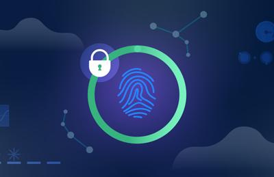 Thumbprint with lock