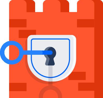 Una llave en un candado   CI/CD de Atlassian