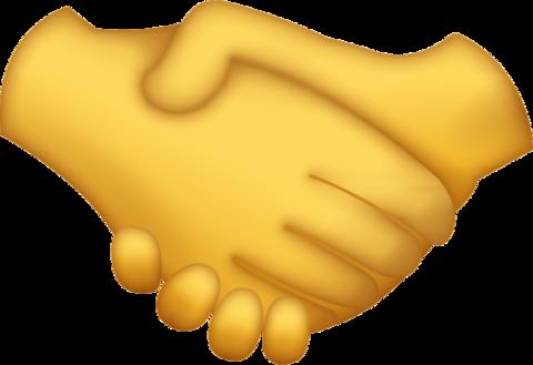 Handshake emoji